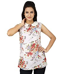 Whistle Casual Sleeveless Floral Print Women's Top