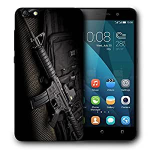 Snoogg Ak47 Designer Protective Back Case Cover For HUAWEI 4X
