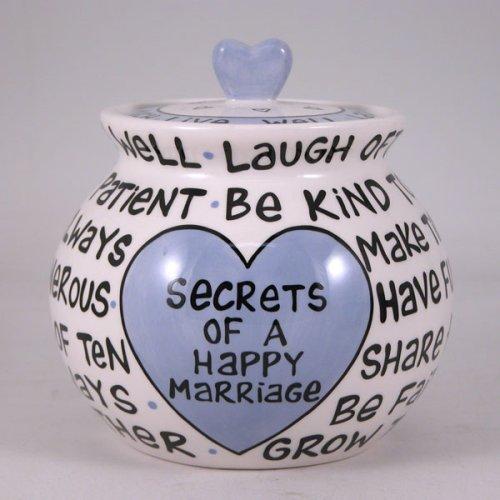 Buy Secrets of A Happy Marriage Jar