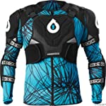 SixSixOne Evo Pressure Suit (Black/Cyan, Medium)