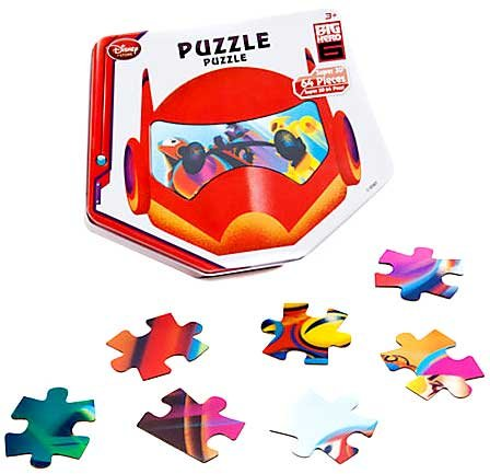 Disney Big Hero 6 Puzzle Big Hero 6 3-D Jigsaw