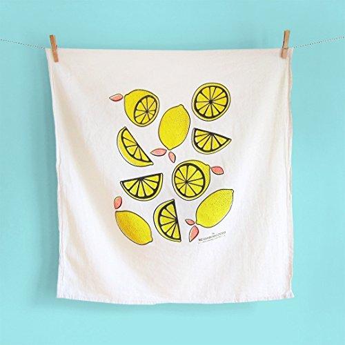 Playful Lemons Kitchen Towel