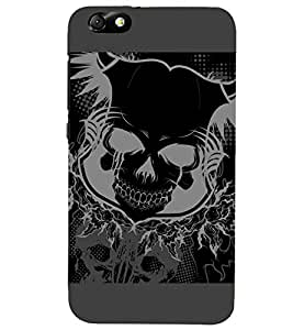 PRINTSHOPPII SKULL GHOST Back Case Cover for Huawei Honor 4X::Huawei Glory Play 4X