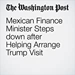 Mexican Finance Minister Steps down after Helping Arrange Trump Visit | Joshua Partlow,Gabriela Martinez