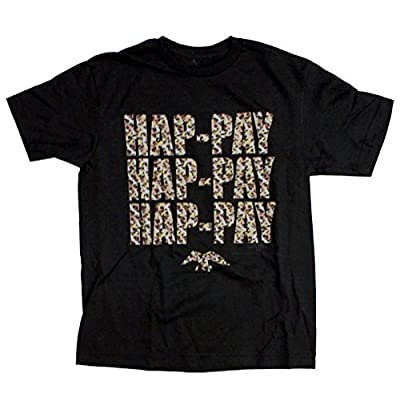 Duck Dynasty Happy Hap-Pay Camouflage Youth T-Shirt