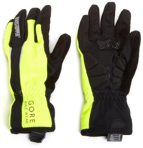 Buy Low Price Gore Bike Wear Men's Power So Neon Gloves (GWNPOW)