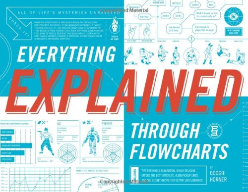 Everything Explained Through Flowcharts: All of Life's Mysteries Unraveled, Including Tips for World Domination, Which Religion Offers the Best … the Secret Recipe for Gettin' Laid Lemonade