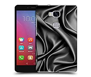 Snoogg Grey Bedsheet Designer Protective Back Case Cover For HUAWEI HONOR 5X