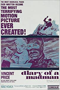 Image DIARY OF A MADMAN, right of center: Vincent Price, one-sheet 1963. - Everett Collection by POSTERLOUNGE