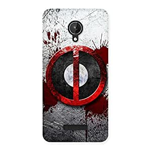 Bleed Dead Multicolor Back Case Cover for Micromax Canvas Spark Q380