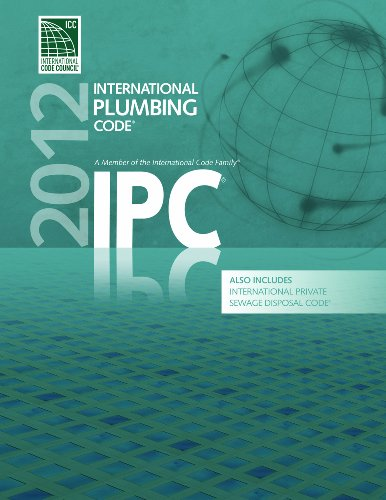 2012 International Plumbing Code (Includes International Private Sewage Disposal Code) - Soft-cover - ICC (distributed by Cengage Learning) - 3200S12 - ISBN: 1609830539 - ISBN-13: 9781609830533