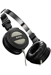 AKG K 404 Foldable Mini Headphone with Carrying Pouch