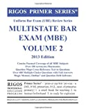 Rigos Primer Series Uniform Bar Exam (UBE) Review Series MBE Bar Exam Volume 2