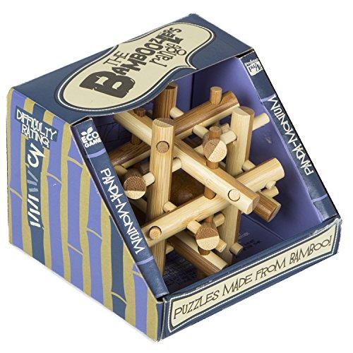Bamboozler Panda Monium Classic Wooden Puzzle