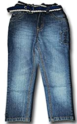 Topchee Kids' Jeans (JNK-09_Blue_2 to 3 Years)