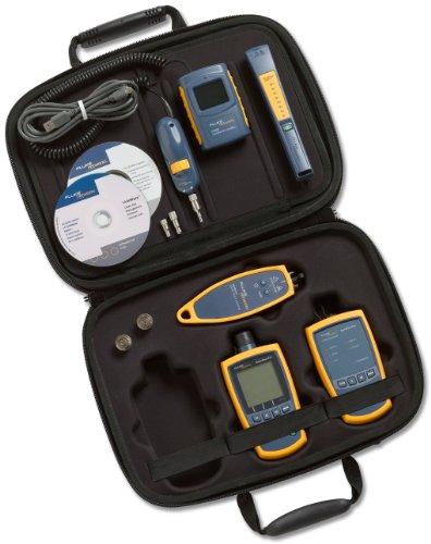 Fluke Networks Ftk1350 Simplifiber Pro Multimode Fiber Verification Kit With Ft500 Fiberinspector Mini Video Microscope, Fiber Tester