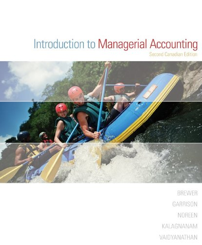 Introduction to Managerial Accounting, Second CDN Edition PDF