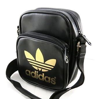 15970b3df7 Borsa a tracolla 'Adidas' oro nero.: .it: Abbigliamento