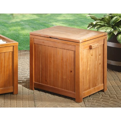 Amazon.com : Guide Gear 44 - qt. Wooden Patio Cooler : Patio, Lawn