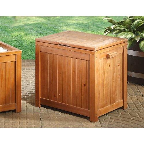 guide gear 44 qt wooden patio cooler