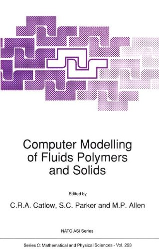 Computer Modelling of Fluids Polymers and Solids (Nato Science Series C:)