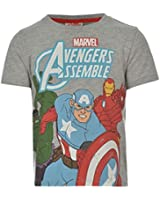 Marvel Kids T Shirt Infants Boys Short Sleeves Regular Fit Graphic Print