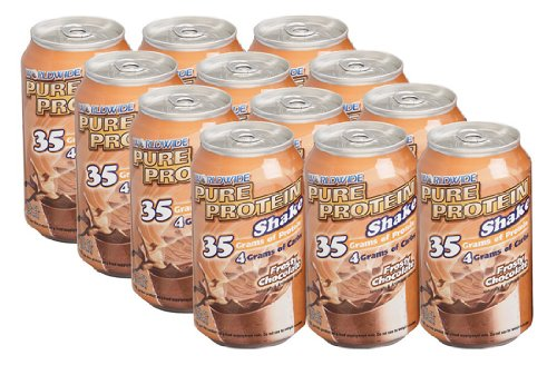 Worldwide Sport - Pure Protein Shake Cookies Crm, 12 drinks