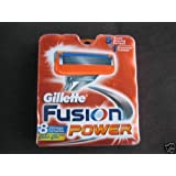 Gillette Fusion Power Cartridges, 4 Pack ~ Gillette