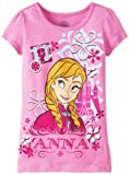 Disney Girls 2-6X Anna Short Sleeve Tee