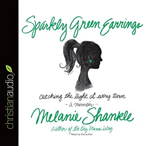 Sparkly Green Earrings: Catching the Light at Every Turn | [Melanie Shankle]