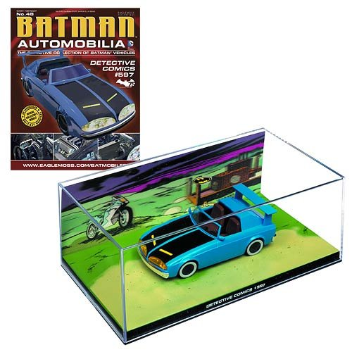 DC BATMAN AUTOMOBILIA FIGURINE COLLECTION MAGAZINE #48 DETECTIVE COMICS #597