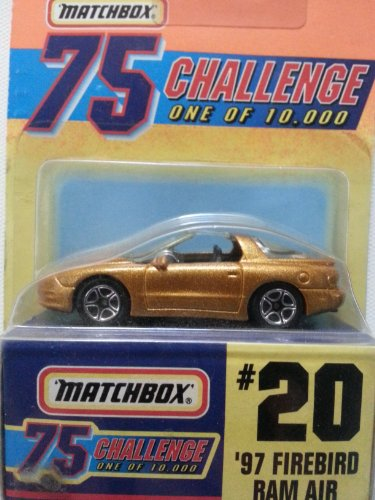 Matchbox 75 Challenge #20 '97 Firebird Ram Air