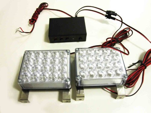 40 led bulb warning emergency vehicle snow plow car truck. Black Bedroom Furniture Sets. Home Design Ideas