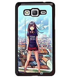 Printvisa Latest Generation Girl Back Case Cover for Samsung Galaxy Core Prime G360