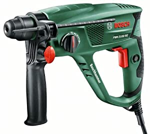 Bosch PBH 2100 RE HomeSeries Bohrhammer + Koffer (550 W, 1,7 J, max. Bohr-Ø Beton 20 mm)