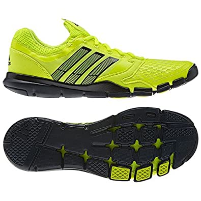 New Adidas adipure Trainer 360 Electricity/Black/White Mens 14