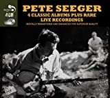 4 Classic Albums Plus Rare Live Recordings [Audio CD] Pete Seeger Pete Seeger