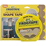 Frog Shape Design Painters Tape -Yellow Scallop