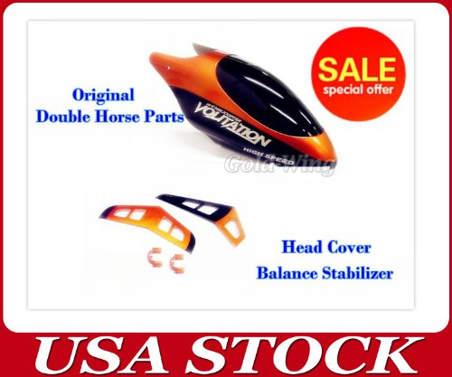 9053-27 19 Head Cover CanopyBalance Stabilizer 9053 Double Horse Helicopter Spare Part