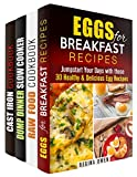 img - for Assorted Recipes Box Set (4 in 1): Breakfast, Raw Food, Dump Dinner Recipes for Everyday (Low-Carb Hearty Meals) book / textbook / text book