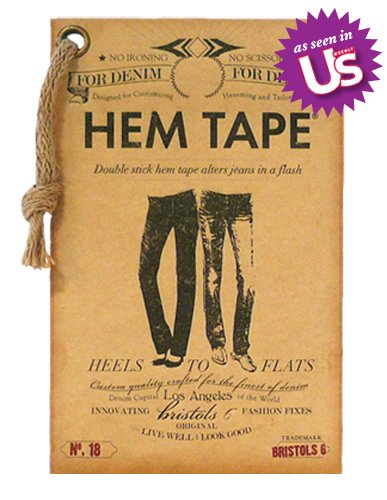 Double-Stick No Iron No Sew Fashion Hem Tape for Denim (Jeans, Pants, Skirt, Short)