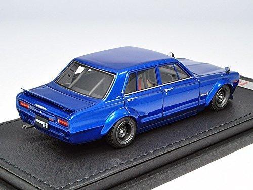 ignition model 1/43 Nissan Skyline 2000 GT-R (PGC10) Semi Works Blue