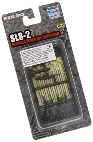 Trumpeter SL8-2 German Rifles, Scale 1/35, 6-Pack - 1