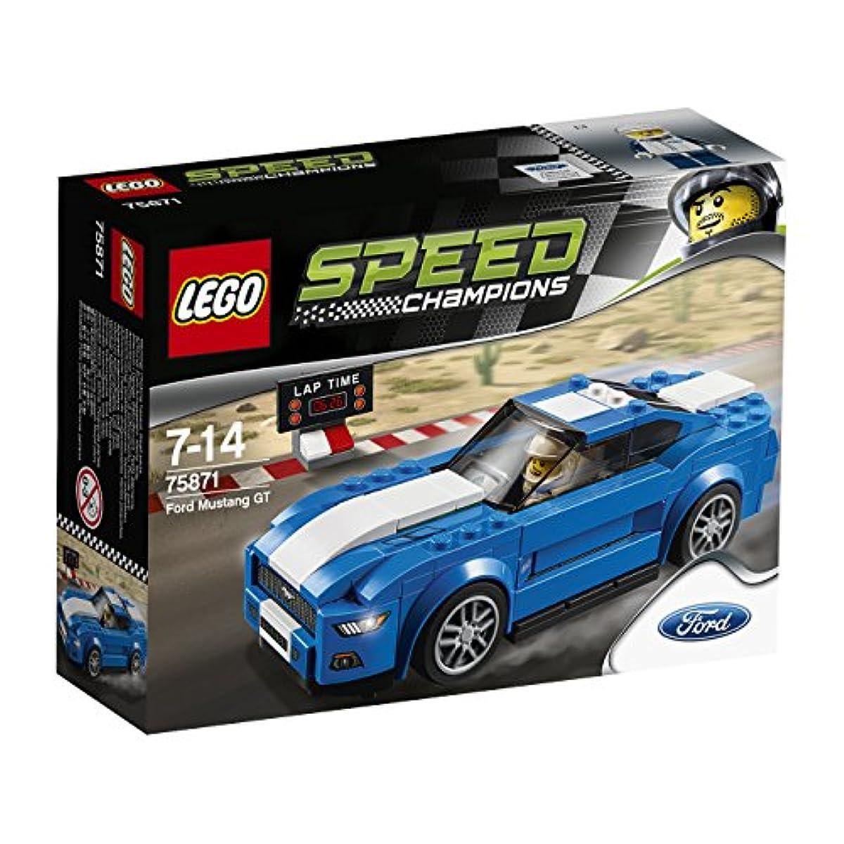[해외] 레고 (LEGO) 스피드 챔피언 포드 머스탱 GT 75871-75871 (2016-03-04)