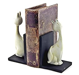 Cat Bookends Playful Cats Book Ends (Pair) 7\