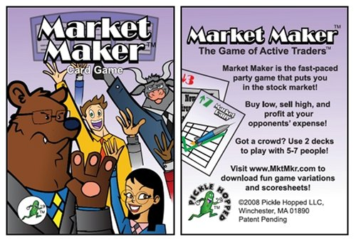 Market Maker Card Game of Active Traders