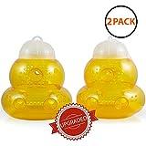 Aspectek Wasp Trap 2-pack - Traps Wasps, Hornets, Yellow Jackets
