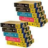 10 CiberDirect Compatible Ink Cartridges for use with Epson Stylus SX218 Printers.