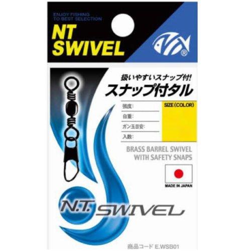 NTスイベル スナップ付タル型サルカン