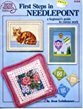 First Steps in Needlepoint, A Beginners Guide to Canvas Work (5104) (0881951935) by Jean Leinhauser